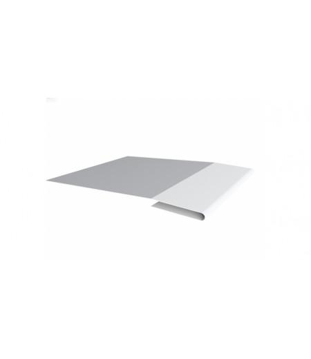 Планка начальная 0,4 PE с пленкой RAL 9003 сигнальный белый