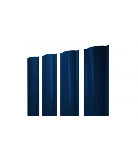 Штакетник Круглый 0,45 PE RAL 5005 сигнальный синий