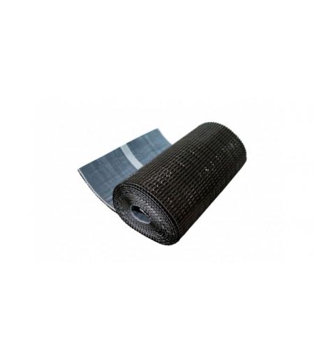 Лента для примыкания гофрированная алюминиевая GRAND LINE коричневая (5м)
