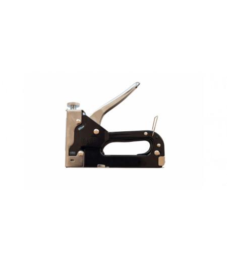 Степлер для скоб 4-14х0,7мм с регулируемым винтом PL - 71050