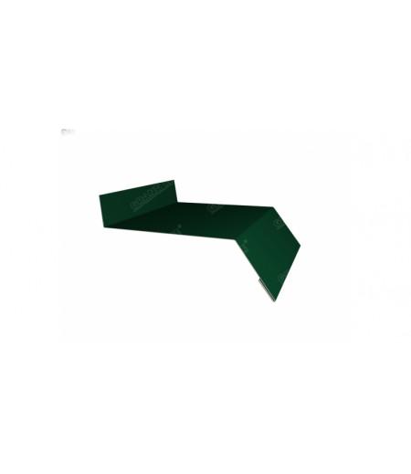 Отлив простой 250 0,4 PE с пленкой RAL 6005 зеленый мох