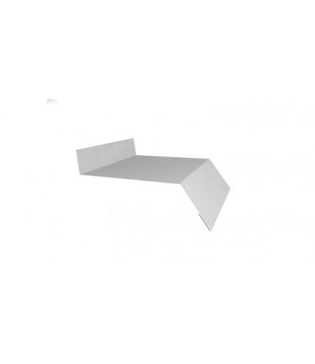 Отлив простой 250 0,4 PE с пленкой RAL 9003 сигнальный белый