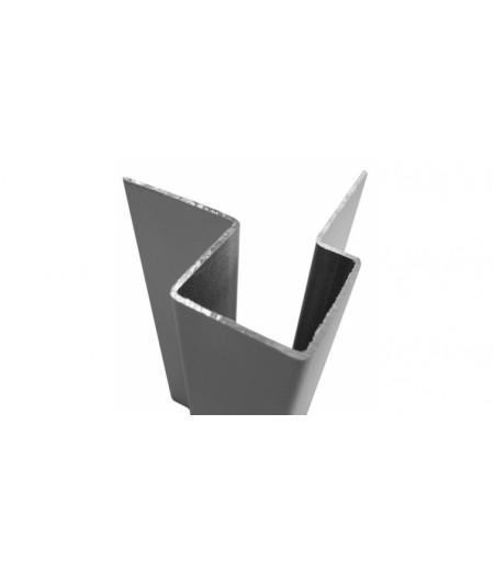 Внешний асимметричный угловой профиль С55 для CEDRAL