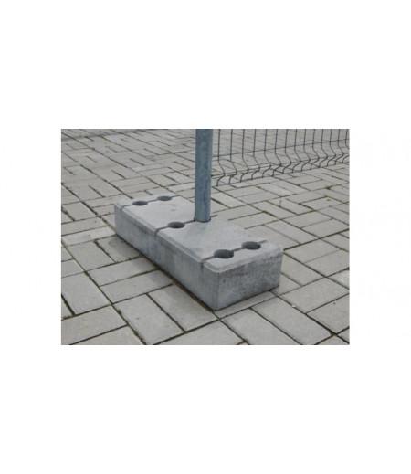 Основание бетонное для временных ограждений 32 кг