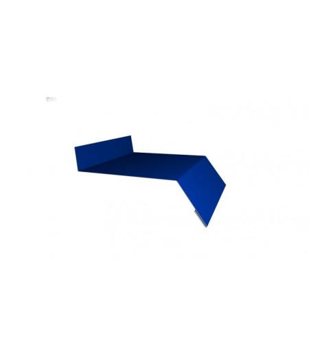 Отлив простой 250 0,4 PE с пленкой RAL 5005 сигнальный синий