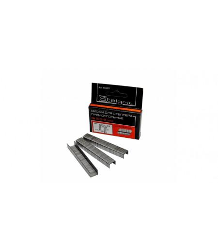 Скобы для степлера каленые 8х0,7мм Stelgrit (655002)