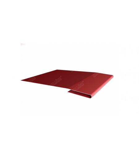 Планка начальная 0,45 PE с пленкой RAL 3011 коричнево-красный