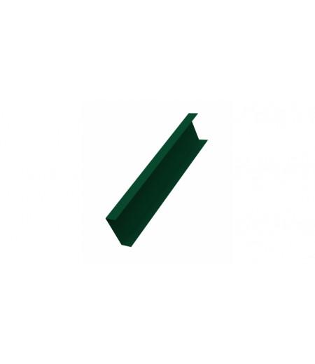 Декоративная накладка на столб 0,45 Drap RAL 6005 зеленый мох