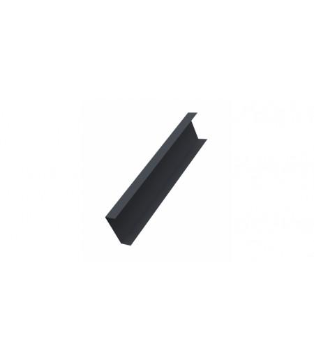 Декоративная накладка на столб 0,45 Drap RAL 7024 мокрый асфальт