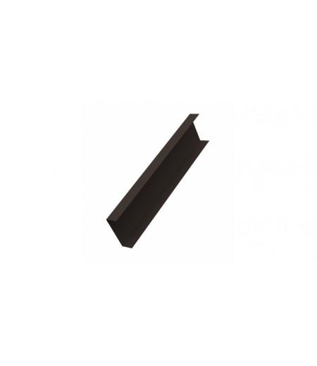 Декоративная накладка на столб 0,45 Drap RR 32 темно-коричневый