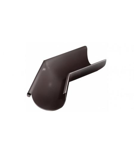 Угол желоба внешний 135 гр 150 мм RAL 8017 шоколад