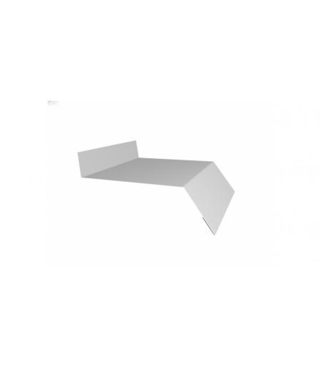 Отлив простой 150 0,4 PE с пленкой RAL 9003 сигнальный белый