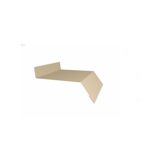 Отлив простой 150 0,45 PE с пленкой RAL 1015 светлая слоновая кость