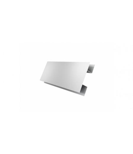 Планка H-образная 0,4 PE с пленкой RAL 9003 сигнальный белый