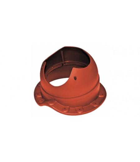 Проходной элемент Krovent Base-VT Wave 110 красный