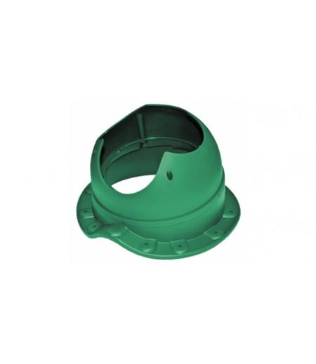 Проходной элемент Krovent Base-VT Wave 110 зеленый