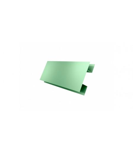 Планка H-образная Экобрус GL 0,45 PE с пленкой RAL 6019